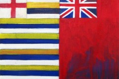 Painting#13-Two-Flags