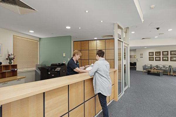 Aged care services Grange with support and carers.
