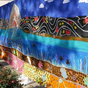 Community art project pays respects to our First Nations people